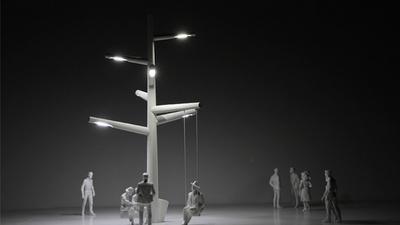 只有路灯照亮的地方,就有网有电有 WiFi