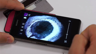 世界放大 350 倍是什么样子?μPEEK 显微卡让你通过手机变身「蚁人」看世界