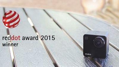 世界上首款最小的 4K 相机 Mokacam