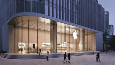 已经逆天的苹果零售店,还将部署智能天花照明系统