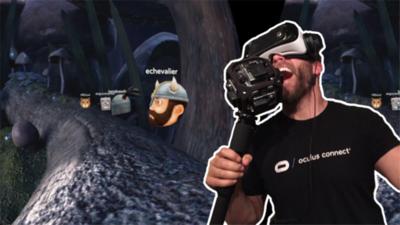 在虚拟现实中唱卡拉 OK 是一种怎样的体验?(视频)