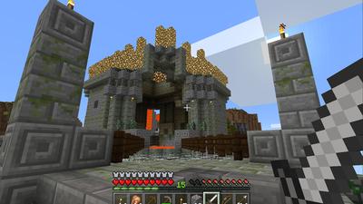 微软推出 Minecraft 虚拟现实版:现在你可以真正拥有一个「我的世界」了