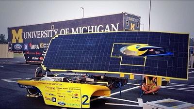 世界太阳能汽车挑战赛丨这个密歇根学生团队向世人展示了未来汽车的台前幕后