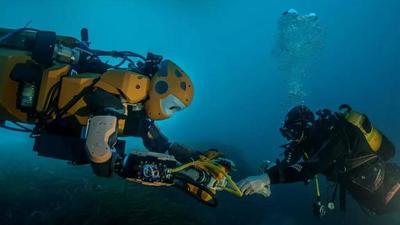水下机器人,带你去不敢去的地方