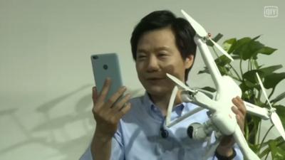 又是直播网红又当导购的,雷军为发布小米无人机也是拼了