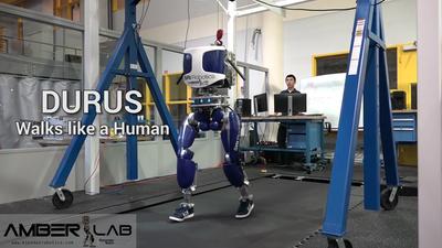 拟人步态机器人 DURUS:走起来路能有多像人?