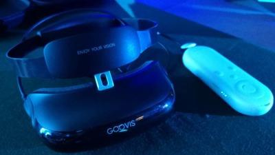 只求戴着舒服、看着清楚:纳德光学发布 GOOVIS G1 头戴影院