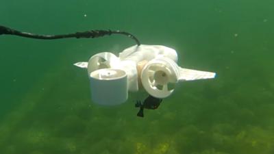 无人机从空中进军海底,Fathom One 带你探索神秘的水下世界