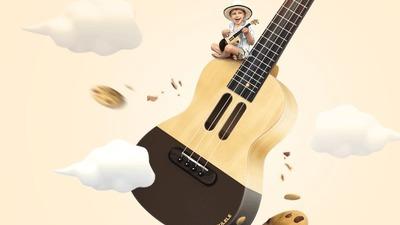 Populele 尤克里里:不安安静静做一只「曲奇饼干」,非要来刷爆科技、音乐、文艺圈!