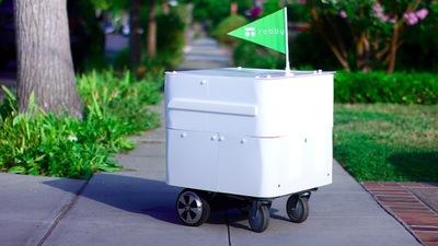 从波士顿到硅谷,Robby 快递机器人在「最后一公里」上走了多远