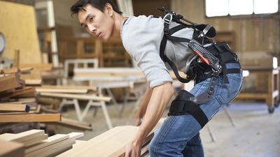 工人的福音:suitX 发布外骨骼「三件套」,可有效减少劳动损伤