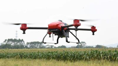 双目避障加地形视觉,极飞发布植保无人机视觉系统「天目」