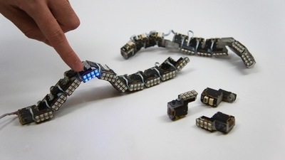 模块化蛇形机器人 ChainFORM,可不止能变个台灯、外骨骼这么简单