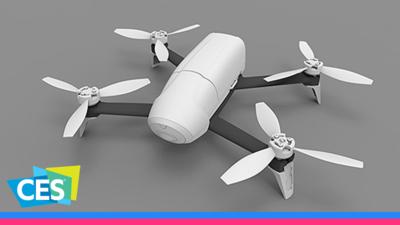 Parrot 联合意大利公司 CRP 采用激光增材制造技术开发无人机 Bebop 2 机身 | WARE @ CES 2017