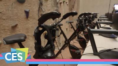 VirZOOM 要打造 VR 健身房,让你在室内来一场激烈的自行车赛 | WARE @ CES 2017