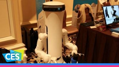 能实现灵活抓取的 MORO 机器人:这或许才是我们想要的机器人助理,但是……| WARE @ CES 2017