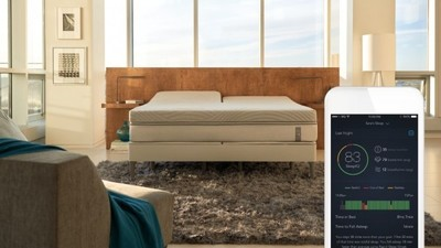 Sleep Number 360 智能床:既会自动调整又会暖脚,还能防止枕边人打呼噜