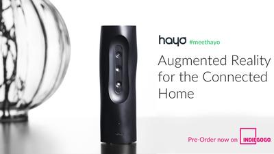Hayo 能施加「魔法 」,将你周围的任何物体和空间变身虚拟遥控器