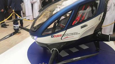 亿航 184 将成为迪拜上空的空中的士?今年 7 月见分晓