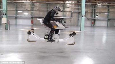 世界上首款载人飞行摩托 Scorpion-3,也不是谁都能开它上天