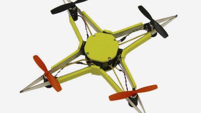受昆虫翅脉结构的启发,EPFL 研发一碰撞就变软的超强抗摔无人机