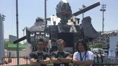 大圣归来!国产机甲参加机器人「世纪大战」,或挑战 MegaBots MarK II 机器人