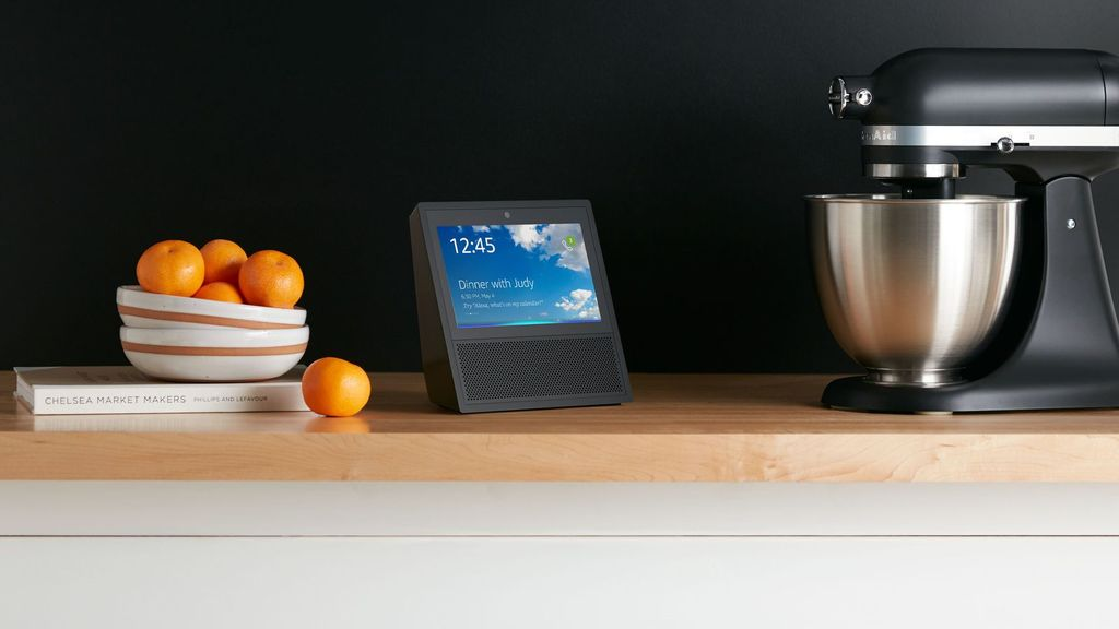 Uploads%2farticles%2f11542%2famazon echo show black kitchen counter