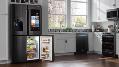 三星家的冰箱要搭载语音助手,在智能家居战场 Bixby 或许能跟 Alexa 互怼