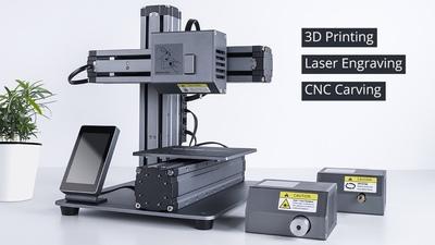 众筹超 200 万美元的 Snapmaker 告诉你,如何将 3D 打印机做成全机械制造平台 | STEAM 教育特稿