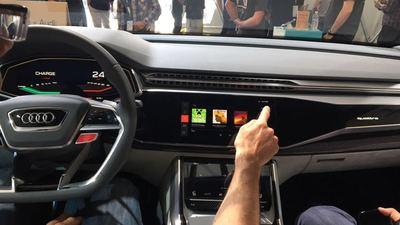 看了一番升级后的 Android Auto,我们在想苹果会有怎样的新版 Carpaly丨Google I/O 2017