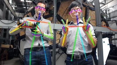 机器人也能读懂人类的情绪?看 OpenPose 是如何通过 500 个摄像头做到的