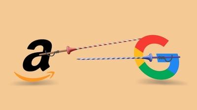 Google 和亚马逊又「互粉」了,但是两家巨头的战争才刚刚开始