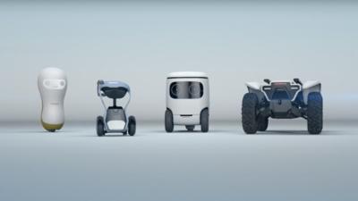 本田一大波萌萌哒的概念机器人即将来袭,让老龄化社会更有爱 | CES 2018