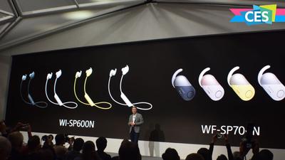 索尼在 CES 上秀了一波无线智能耳机,确定这次不是鸡肋?| CES 2018