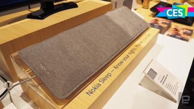 诺基亚展示睡眠监测新品 Nokia Sleep,可联动智能家居设备还将集成 Alexa 服务丨CES 2018