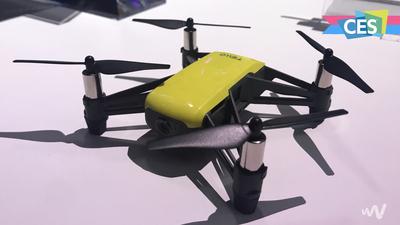 大疆和英特尔的「私生子」:Tello 让你重新认识玩具无人机 | CES 2018