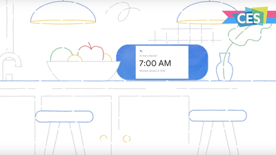 上手体验 Google Assistant 带屏幕智能音箱后,我有点明白 Google 对抗亚马逊的新策略了丨CES 2018