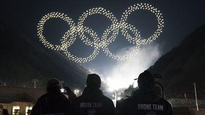 英特尔用 1218 架无人机点亮了冬奥会开幕式夜空,创造了吉尼斯世界纪录