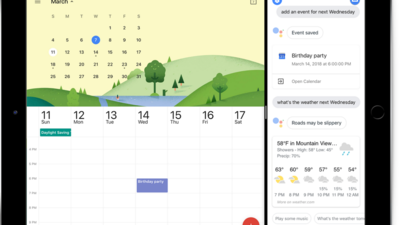 Google Assistant 登陆 iPad,支持多任务模式