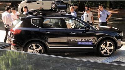 拿下深圳首张路试牌照,鹅厂的无人车又找到了新练车场