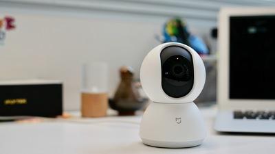 米家智能摄像机云台版开箱:全景视角,高清画质,贴心看家好本领