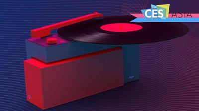 瞄准年轻白领, HYM-DUO 智能音箱又玩出了「黑胶生活」新境界 | CES Aisa 2018