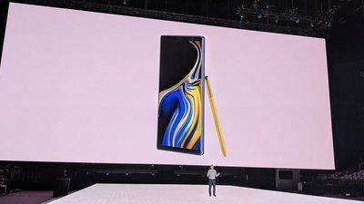 三星 Note 9 发布会:更大的手机屏、更全能的笔,以及一款要对标苹果的智能音箱