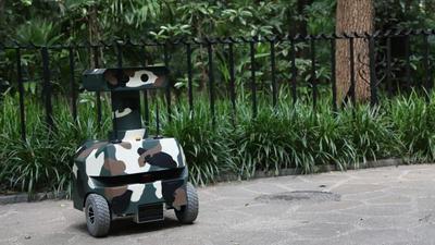 深兰科技推瓦力巡警机器人,抢滩 300 亿美元机器人市场