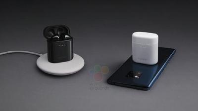 华为新品爆料:神似 AirPods 的真无线充电耳机,还有「刘海屏版本」的三星手机