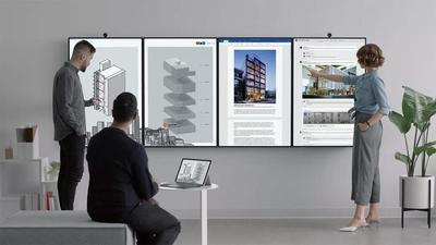搭载 50.5 寸 4K 巨屏的微软 Surface Hub 2 将于 2019 年上市