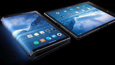 柔宇发布首款折叠手机柔派,售价 8999 元起
