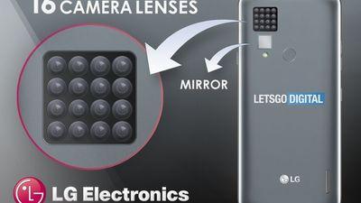 LG 手机摄像新专利:16 个镜头组成「花洒」,还自带自拍镜