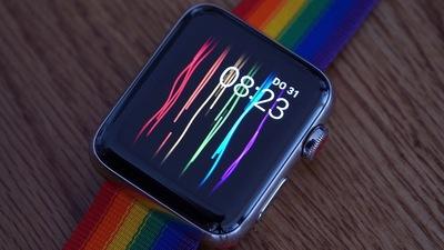 Apple Watch 彩虹表带不够耍酷了,苹果还想做个有灯光效果的