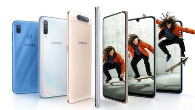 三星升降式旋转镜头手机 Galaxy A80 国内发布,还带来了三款 A 系列新机